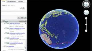 The Voyage of Joshua Slocum in Google Earth
