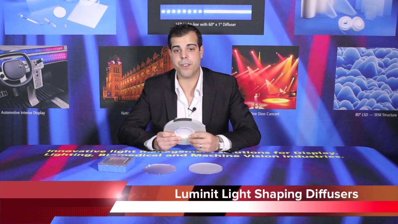 LSD-Sheets | Luminit | Light Shaping Diffuser Sheets | Acal BFi BE