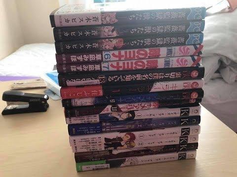 YesAsia.com Manga Haul (Japanese Manga Volumes)