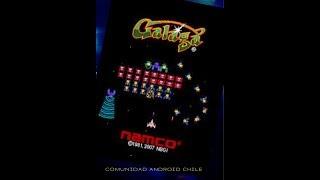 Galaga 1981 un clásico de los arcades ahora  en ANDROIID👍👍👍 con (Happy chick)💪💪💪💪⚡⚡⚡