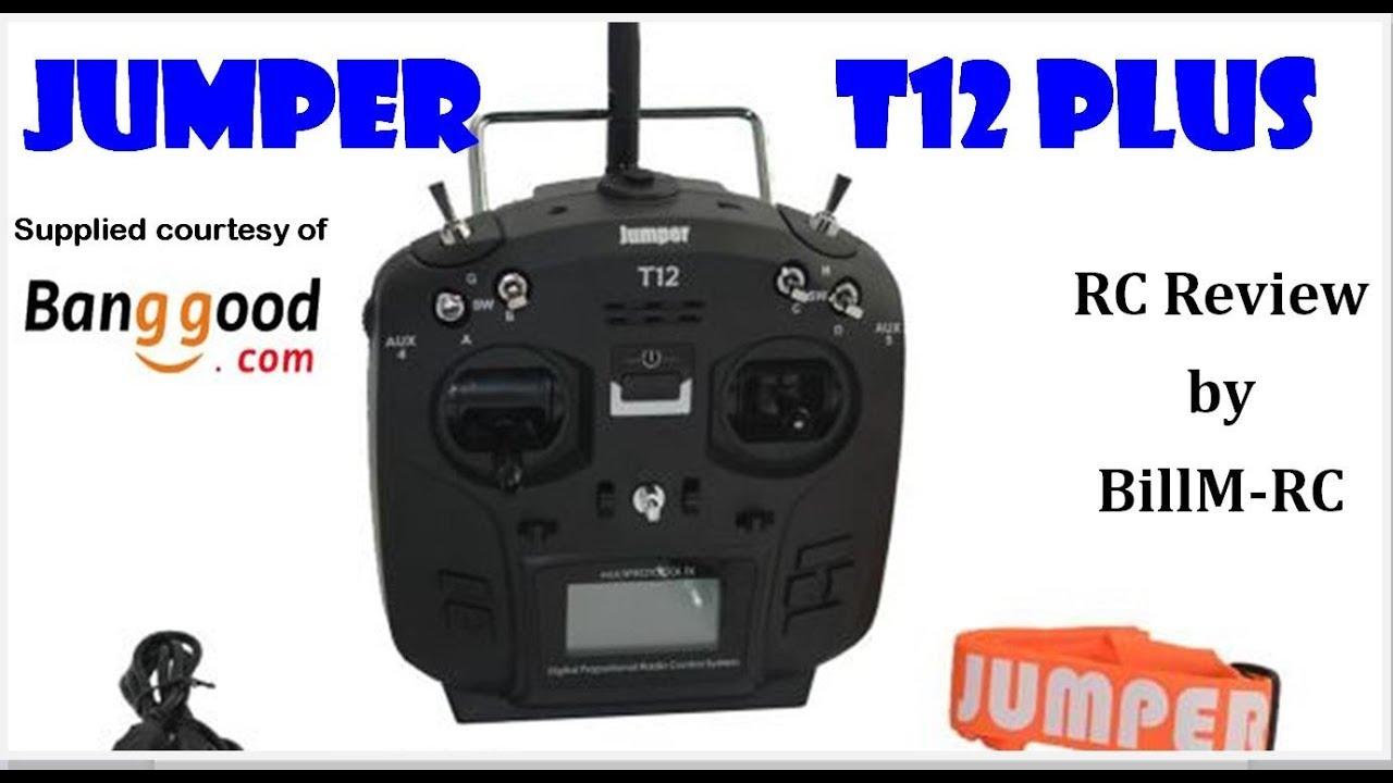 Jumper T12 Plus Open TX Multi-protocol Radio Transmitter