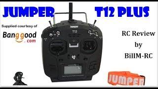 Jumper T12 Plus review - OpenTX Multi protocol Radio Transmitter