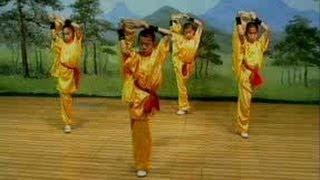 Shaolin flexibility&balance (tongzi) kung fu: combative form