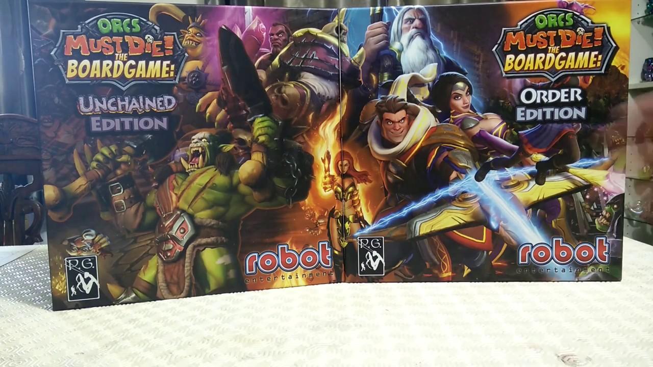 Orcs Must Die Kickstarter Exclusive Tokens Glowing Skulls The Board Game