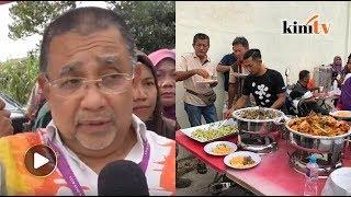 Free Nasi Arab - Isa Samad denies sponsoring food for voters