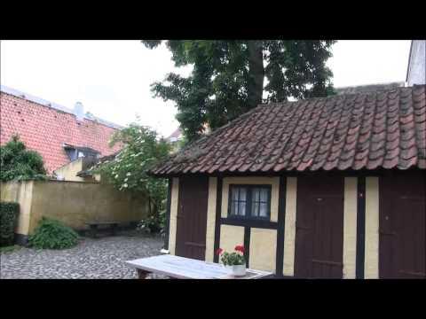 Odense , Denmark , tourist visit in 3 minutes