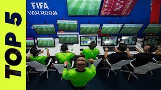TOP 5 TIMES VAR MESSED UP A WHOLE GAME OF FOOTBALL | SLASH FOOTBALL