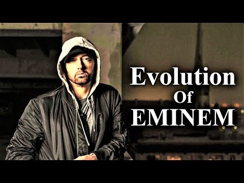 The Evolution Of EMINEM 1988  2017