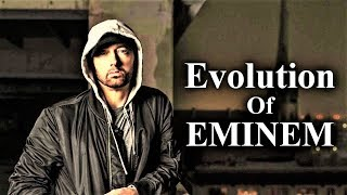 The Evolution of EMINEM, comparing the old EMINEM with the new. Marshall Bruce Mathers III (born October 17, 1972), known professionally as EMINEM, is an ...