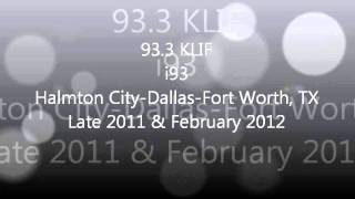Texas Rhythmic & CHR Top 40 Aircheck Samples 2011-2012 Part 1