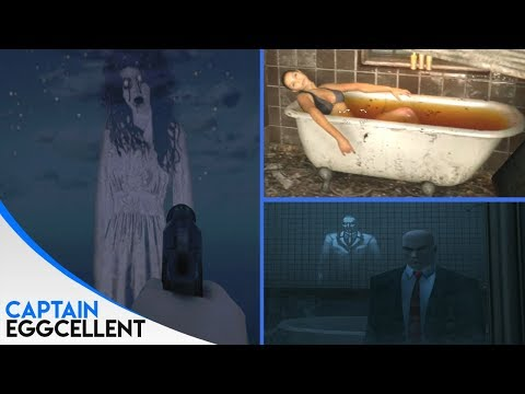 8 CREEPY Ghost Easter Eggs In Video Games