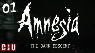 Amnesia: The Dark Descent Part 1   No Commentary   PC Horror Game Walkthrough