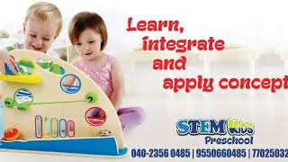 STEM Kids Preschool, Tolichowki, Hyderabad,India,Science Fair