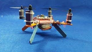 Cómo hacer un Mini Racer Quadcopter utilizar Popsicle sticks