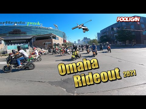 Omaha Stunt Ride '21 (100+ Bikes and a Helicopter)