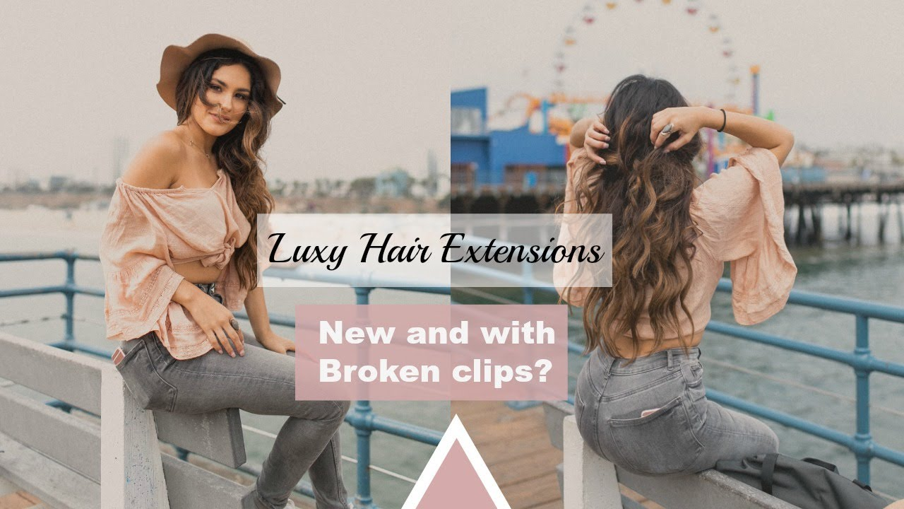 Foxy Locks Vs Luxy Hair - Luxy hair extensions follow up review ombre chstnut