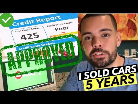 """Clients Say, """"How Can I Buy A Car With Bad Credit?"""" (NO MONEY DOWN)"""