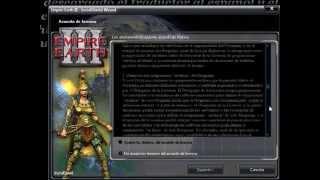 Como Descargar e Instalar Empire Earth III Full en Español y Con Crack (Para Jugar sin CD)