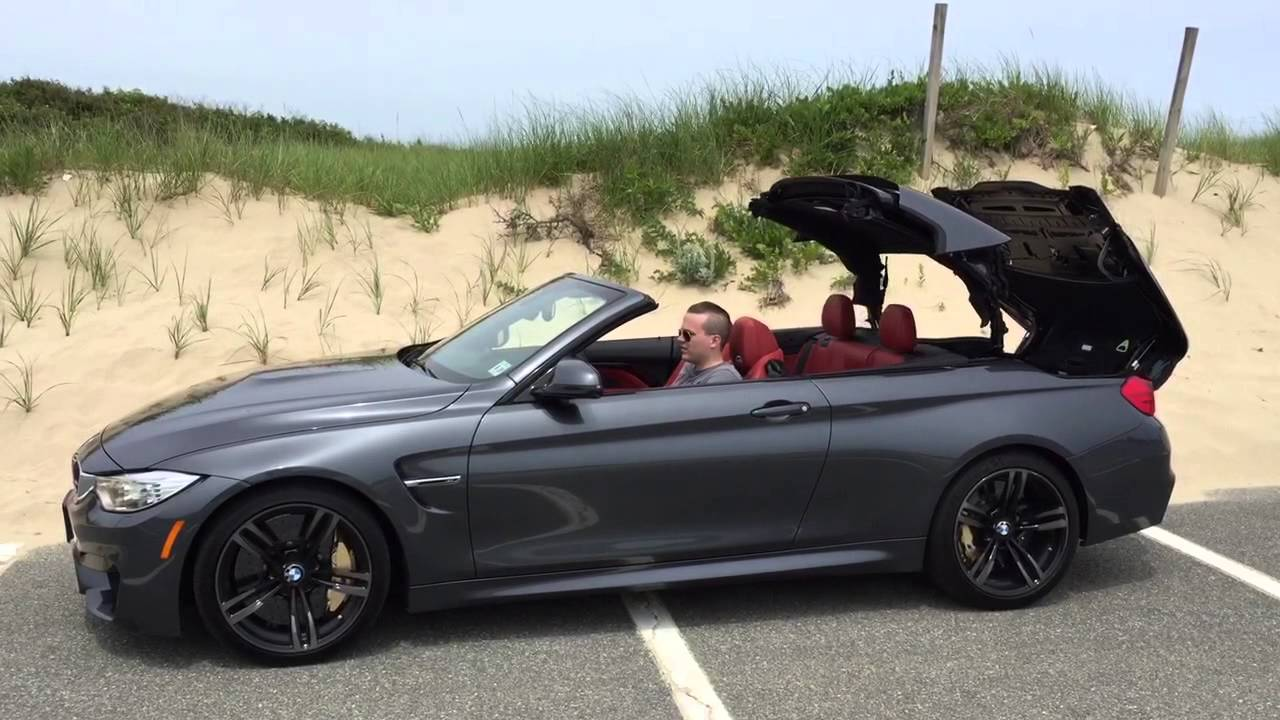 2015 bmw m4 convertible hard top nydn autos youtube. Black Bedroom Furniture Sets. Home Design Ideas