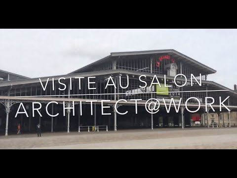 Salon ARCHITECT@WORK 2014 Paris