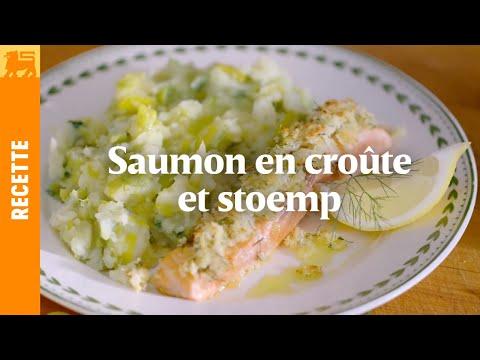 Recettes Delhaize €3 - Saumon en croute et stoemp