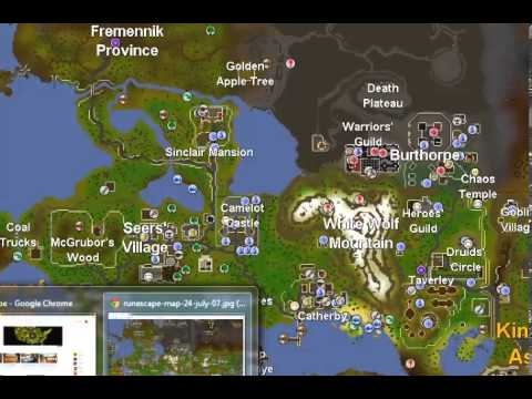 07 Rs World Map.07 Runescape Slayer Guide Pyrefiends Youtube