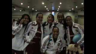 Mujeres Vinotinto Sub17 Sud.Paraguay 2013, Futbol Femenino en Venezuela.