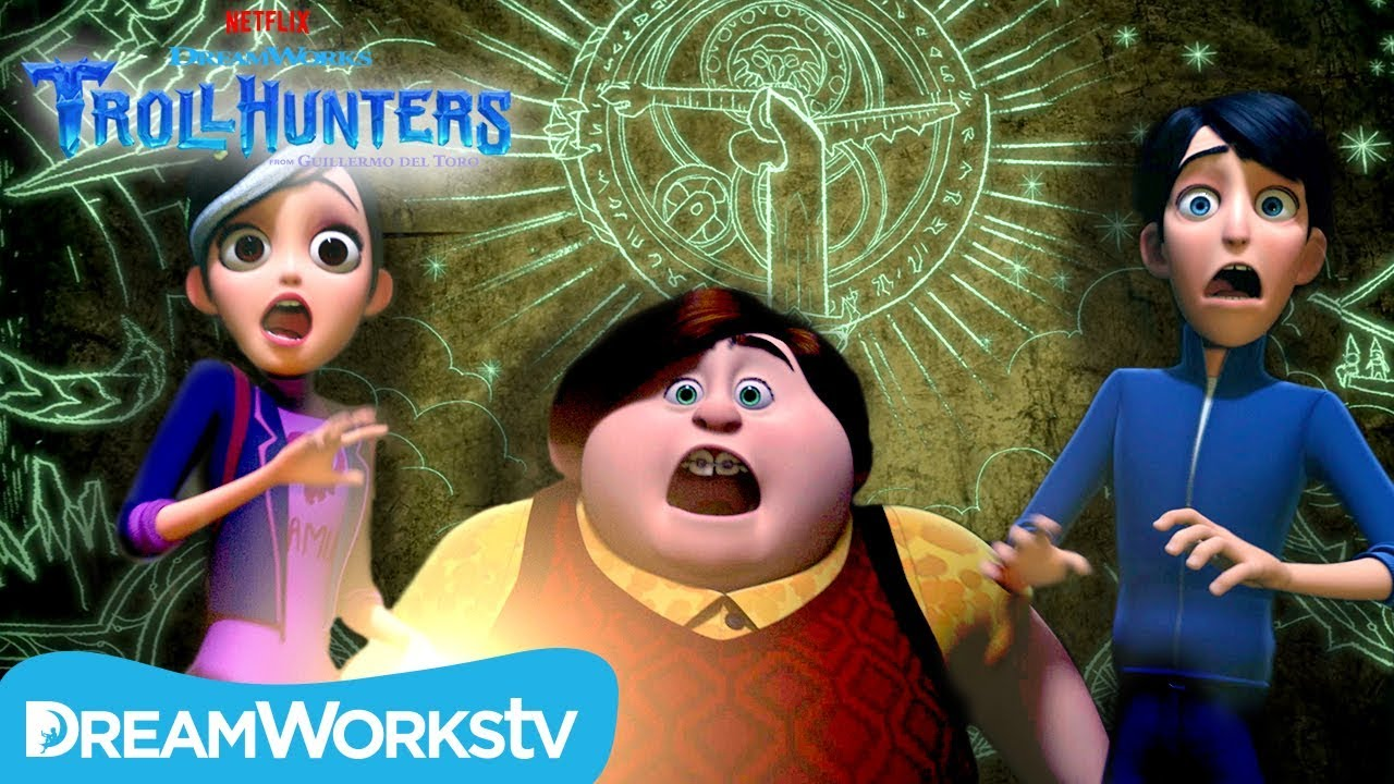 Download Merlin's Cave   TROLLHUNTERS