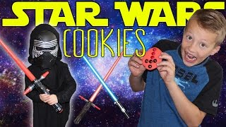 Kid Size Cooking: Star Wars Kylo Ren Cookies thumbnail