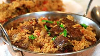 One Pan Aromatic Beef and Rice in 30 Minutes