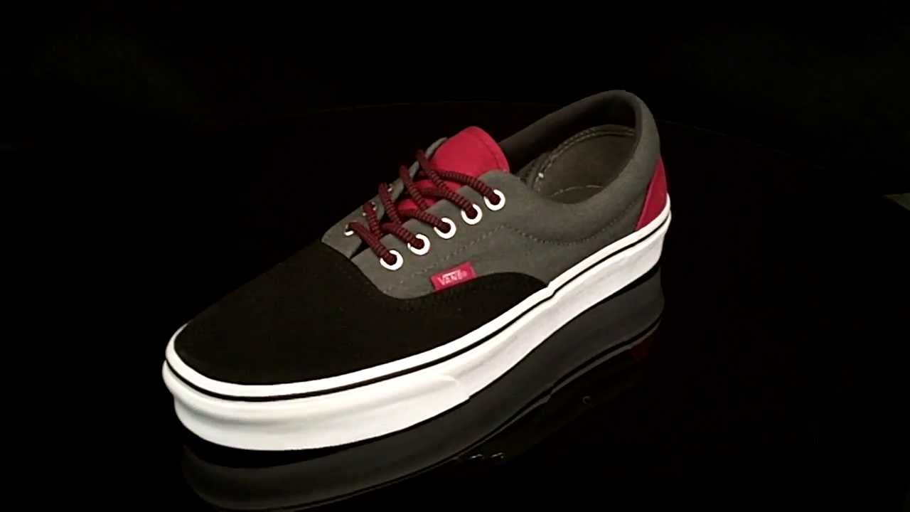 Vans ERA 3 Tone sneakers Black Castle Rock VTN98GO - YouTube 73c33c48fb