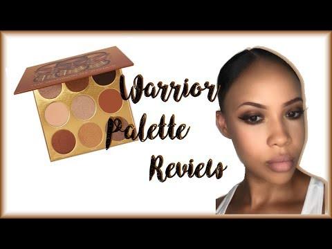 Juvias Warrior Palette Review | Princess.Peach
