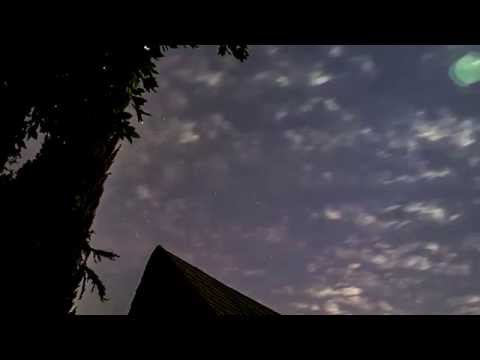Skywatching over Inglewood, California