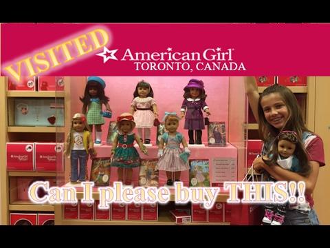 American Girl Store - Toronto!  Fun Walkthrough!