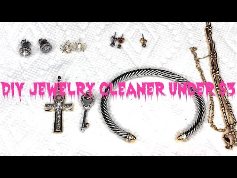 DIY JEWELRY CLEANER UNDER $3