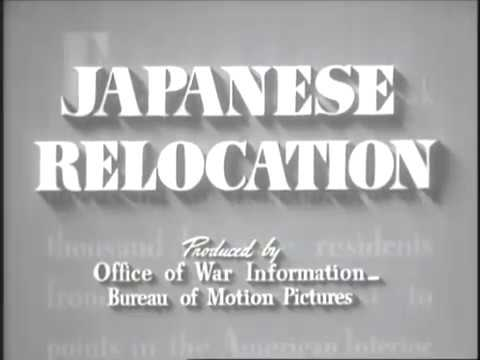 "1943 U.S. government-produced film ""Japanese Relocation"" addresses relocation camps"