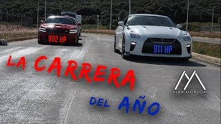 GTR 911 Hp vs HELLCAT 902 Hp / GT TUNING vs ROJO SPEED SHOP