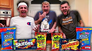 Trying the WORLD'S SPICIEST CANDY!! Ft. Faze Rug & Brawadis