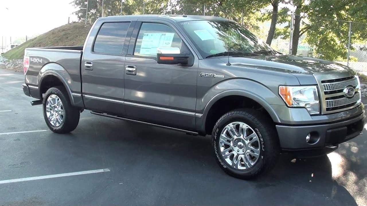 Ford F-150 Platinum For Sale >> FOR SALE NEW 2011 FORD F-150 PLATINUM !!! STK# 110052 www.lcford.com - YouTube