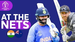 IND v NZL - At The Nets | ICC Cricket World Cup 2019