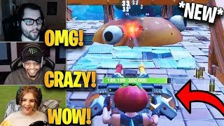 Streamers First Time Using *NEW* Mounted Turret in Food Fight LTM! | Fortnite Highlights