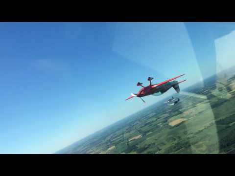 Patty Wagstaff Air to Air Oshkosh 2015