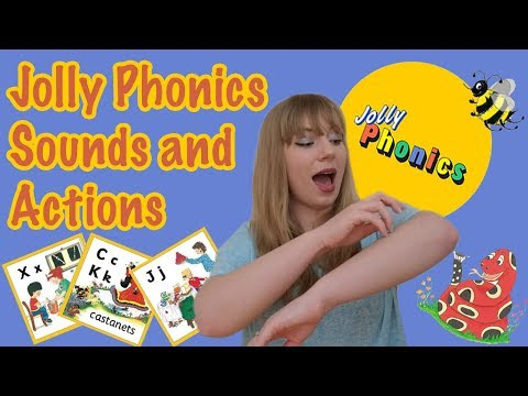 Jolly Phonics | Sounds and Actions