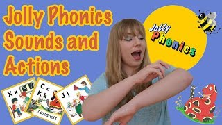 jolly phonics sounds and actions