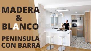 Cocinas con Peninsula abiertas al Salon CJR