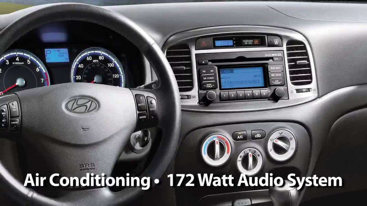 2010 Hyundai Accent Test Drive Youtube