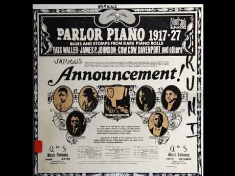 Parlor Piano Music-Selection of Rags