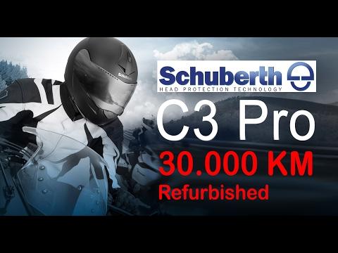 Schuberth C3 Pro - 30000 Kilometer - Refurbished - Deutsch - German - Test & Review