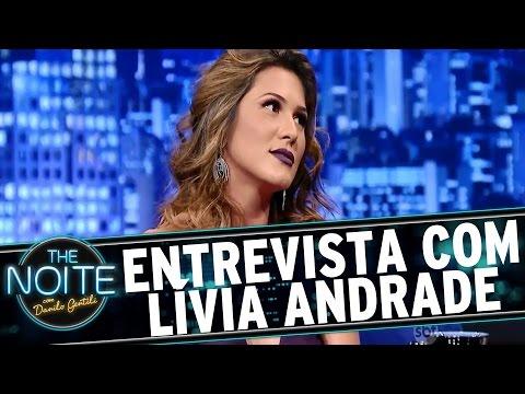 The Noite (13/01/16) - Entrevista Com Lívia Andrade