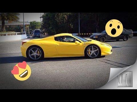 Super Cars in SLEX 8
